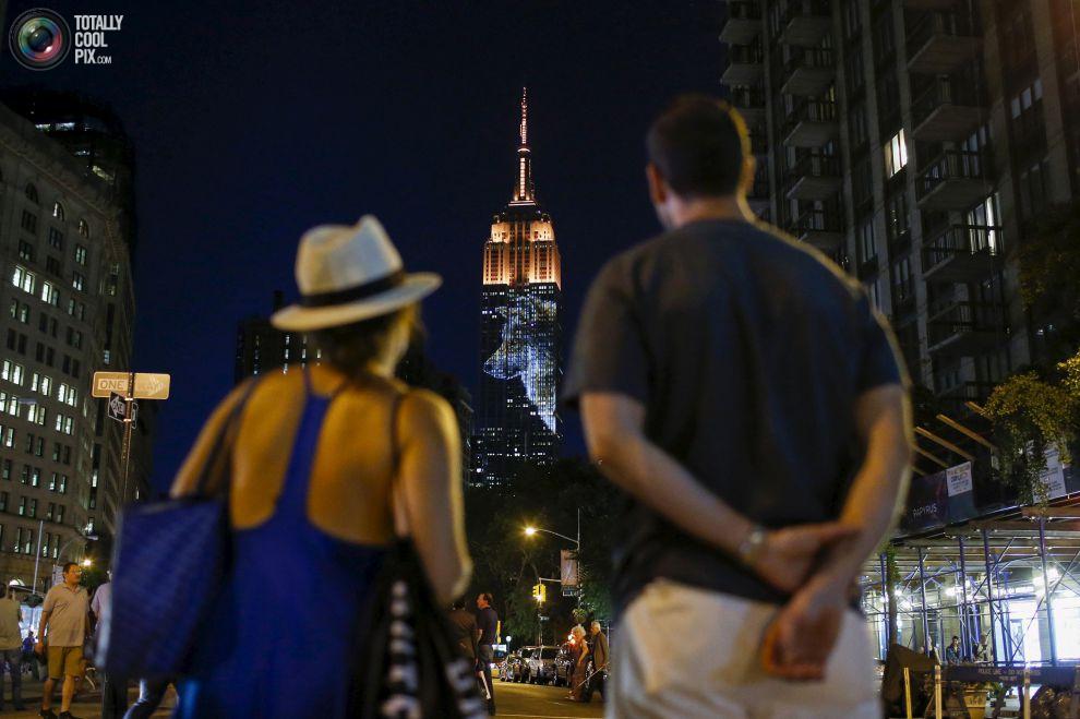 Empire State por EDUARDO MUNOZ/REUTERS